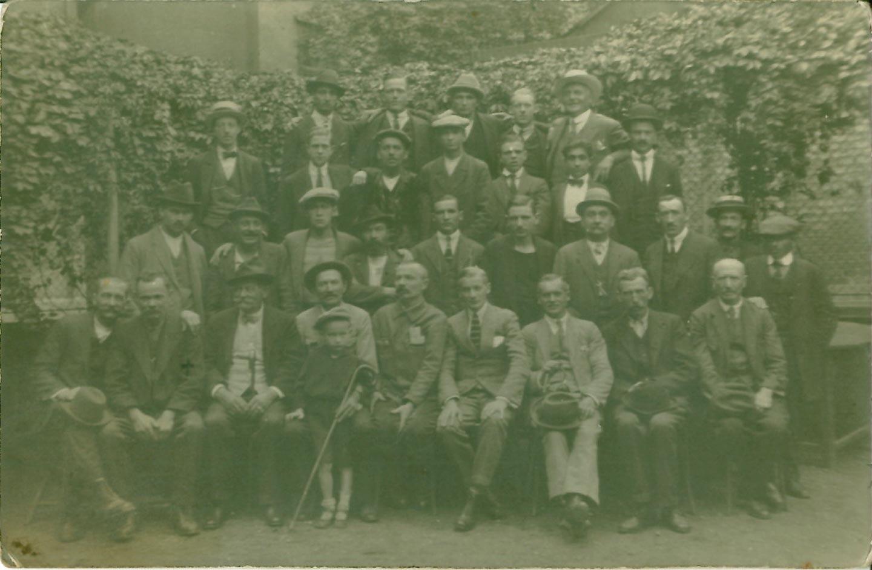 Belegschaft im Jahre 1911